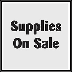 Supplies On Sale