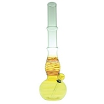 Hi Guy Coloured Medium Wall Bong With No Slip Grip