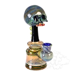 3Dot Rasta Spiral & UV Skull Mini Tube 3DOT-42