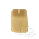 Buzz Beeswax Lil' Cube Candle.  BUZZ-C1