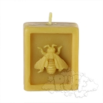 Buzz Beeswax Cube Candle.  BUZZ-C5