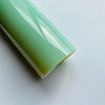 Greasy Glass Dense Wintergreen Over Icy White Satin Tube B+ Grade (Per Pound). GRS-T-DWIWS