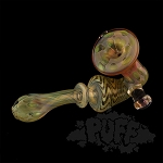 Eckardt Glass Silver & Gold Fumed Sherlock. ECK-14