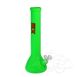 FLX Silicone Amplifier Bong. FLX-313-GRN