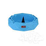 FLX Silicone Ohm Ashtray. FLX-ASH1-BLU