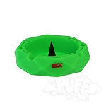 FLX Silicone Ohm Ashtray. FLX-ASH1-GRN
