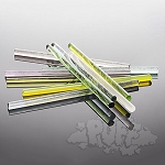 Glass Alchemy First-Gen Transparent Full Rod Sample Pack (Per Pound).  ­­­­GA-FGTPACK