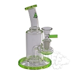 Hydros Glass Mini Rig. HY-529-LGRN