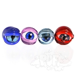 Jam Bear Glass Carved Eyeball Bubble Cap. JB-15