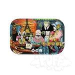 OCB Metal Rolling Tray Medium.  OCB-TRAY-11M