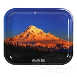 OCB Metal Rolling Tray Large.  OCB-TRAY-12L