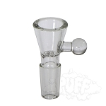 Clear Glass Funnel Bowl With Handle. WL-B2C