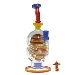 Full Zirkl Glass Primary Egg W/ Carb Cap. AZ-78