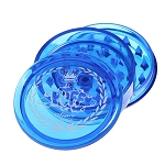 Puff Acrylic Magnetic Grinder With Storage. BL-203-BLU