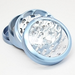 Sharpstone Grinder Clear Top 4pc Blue Size: 2.5
