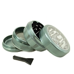 Sharpstone Grinder V2 Clear Top 4pc Green Size: 2.5