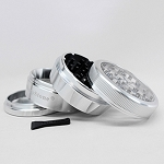 Sharpstone Grinder V2 Clear Top 4pc Silver Size: 2.5