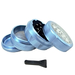 Sharpstone Grinder V2 Clear Top 4pc Blue Size: 2.2