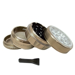 Sharpstone Grinder Clear Top 4pc Bronze Size: 2.2