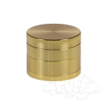 Gold 4 pc Aluminium Grinder 2.1
