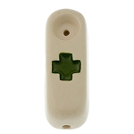 Buzz Ceramics Green Cross Pipes