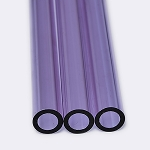 Chinese Tube 25 x 4mm Purple