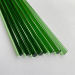 Greasy Glass Green Energy Rod (Per Pound).  GRS-R-GE