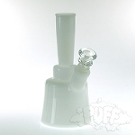 Hydros Bell Bottom Bong. HY-515-WHI