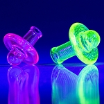 IL UV Reactive Colour Spinning Carb Cap Top