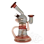 Korey Cotnam Glass Single Uptake Reti Recycler. KC-107