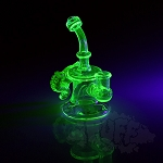 Lerma Glass Tentacle Disk Bubbler. LGA-700Q