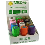 Case Of 12 Limited Edition Puff Medtainers.  MED-T1