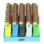 Grip Lighter Multicolour 50 Pack. MK-GRIP