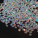 Faceted Round Rainbow 2mm. O-FR-R2