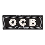 Single Pack OCB Black Premium Papers. S-OCB-REG-50