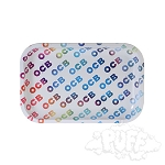 OCB Metal Rolling Tray Medium.  OCB-TRAY-2M