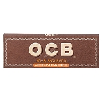 Single Pack OCB Unbleached 1.25 Papers. S-OCB-UB-1.25
