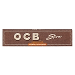 Single Pack OCB Unbleached King Slim Papers. S-OCB-UB-KING