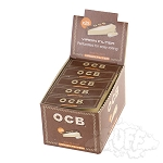 OCB Unbleached Tips Perforated. OCB-UB-TIPS-PERF