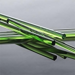 Glass Alchemy Portland Green First Quality Rod (Per Pound). GA-PGREEN