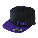 Puff Classic Snapback W/ Block Letters.  PUFF-20-PUR