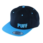 Puff Classic Snapback W/ Block Letters.  PUFF-20-TEAL