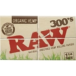 Single Pack Raw Organic 300.  S-RAW-ORG-300