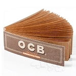 Single Pack OCB Unbleached Tips Perforated. S-OCB-UB-TIPS-PERF