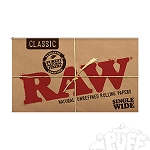 Single Pack RAW Single Wide Double Feed. S-RAW-REG-100