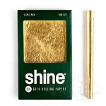 Single Pack - Shine 24k Gold Papers King Size.  SHP-KING-PACK