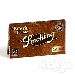 Smoking Brown Double Papers Single Pack.  S-SKG-BRN-DBL