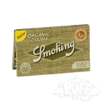 Smoking Organic Double Window Papers Single Pack.  S-SKG-ORG-DBL