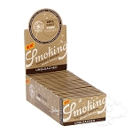 Smoking Thinnest Brown Unbleached Double.  SKG-THNBRN-DBL