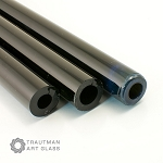 Trautman Art Glass Fade2black Tube Odds (Per Pound). TAG-FADE2BLACKTUBE-ODD
